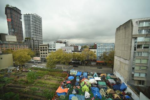From Tent Cities to Affordable Housing on One Downtown Eastside Lot