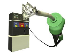 Money gas pump