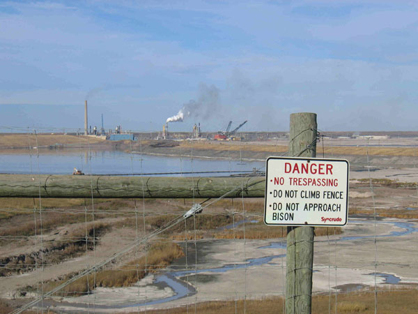 Tar Sands, tailings pond