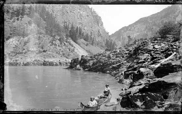 First Nations fishing near Yale