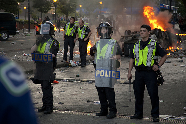 Vancouver police, Canucks riot 2011