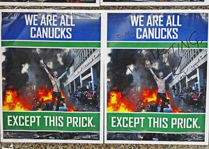 All Canucks poster