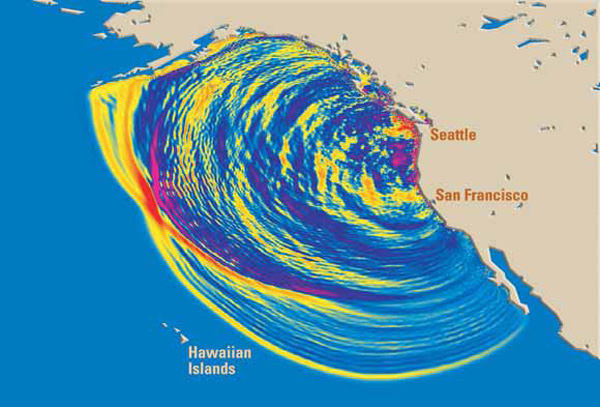 THE QUESTION IS, HOW BAD WILL THE TSUNAMI BE IN                   HAWAII?