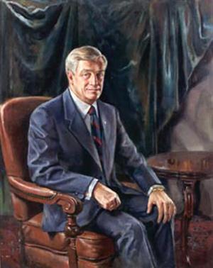 Former Alberta premier Peter Lougheed