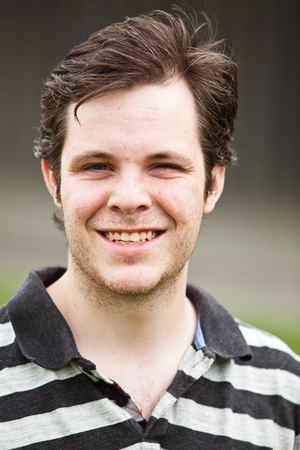 Ubyssey editor Justin McElroy