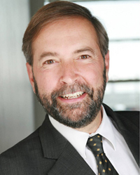 NDP leadership candidate Thomas Mulcair