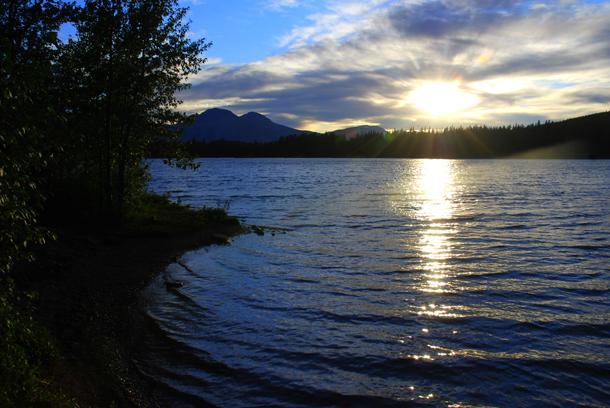 Beaver Mines Lake in Alberta