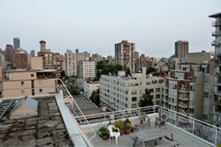 View from a west end rooftop