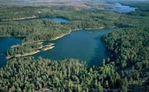 Experimental lake