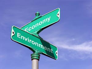 Economy environment intersection