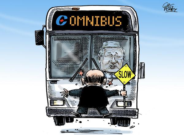 Runaway omnibus