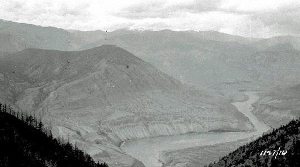 Moran dam site