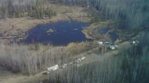 Little Buffalo oil spill