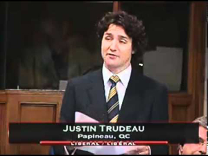 Justin Trudeau, Liberal Party