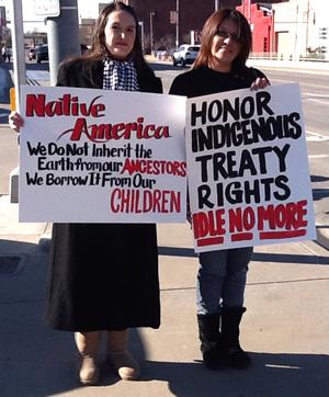 Idle No More protest in OKC