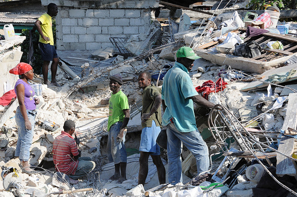 Haiti post earthquake