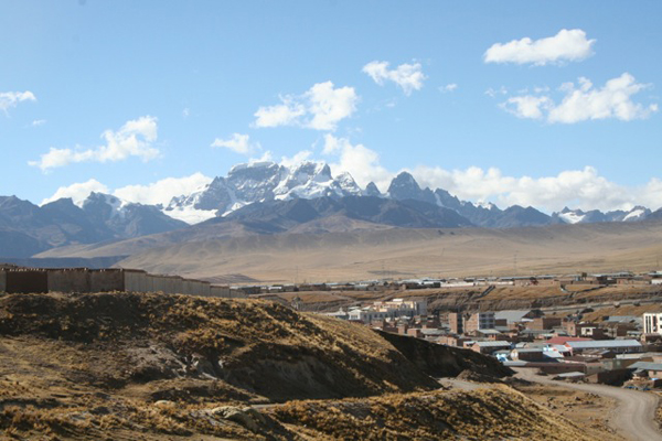 Macusani in Peru's southern Andes