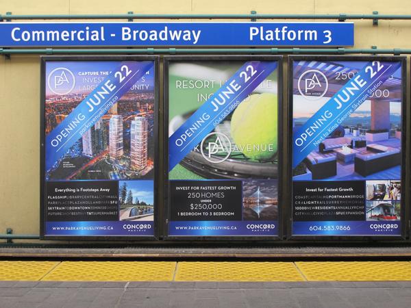Commercial/Broadway platform