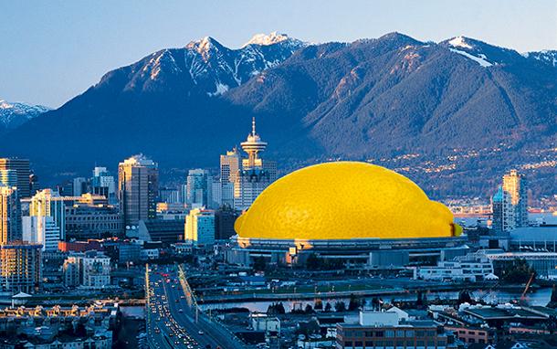 BC Place lemon