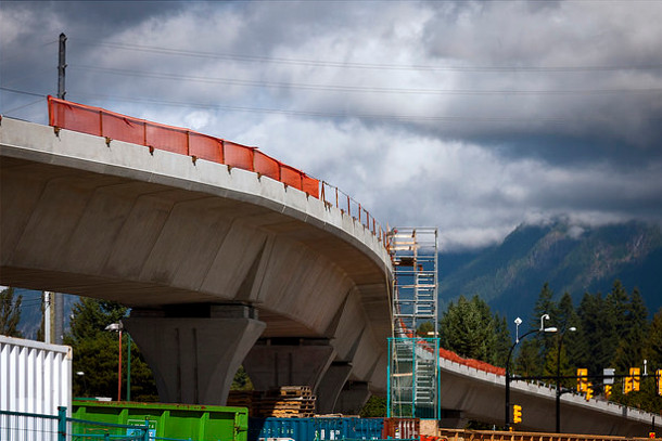 SkyTrain expansion construction
