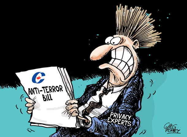 Anti-terror bill cartoon