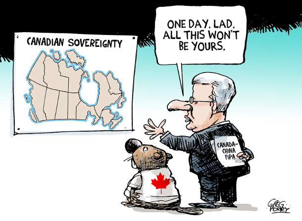 Cartoon by Greg Perry about FIPA