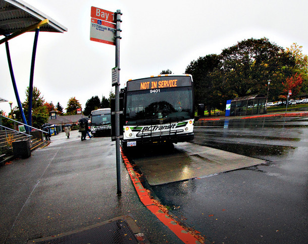 UVic bus loop