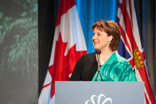 Premier Clark at GLOBE 2016