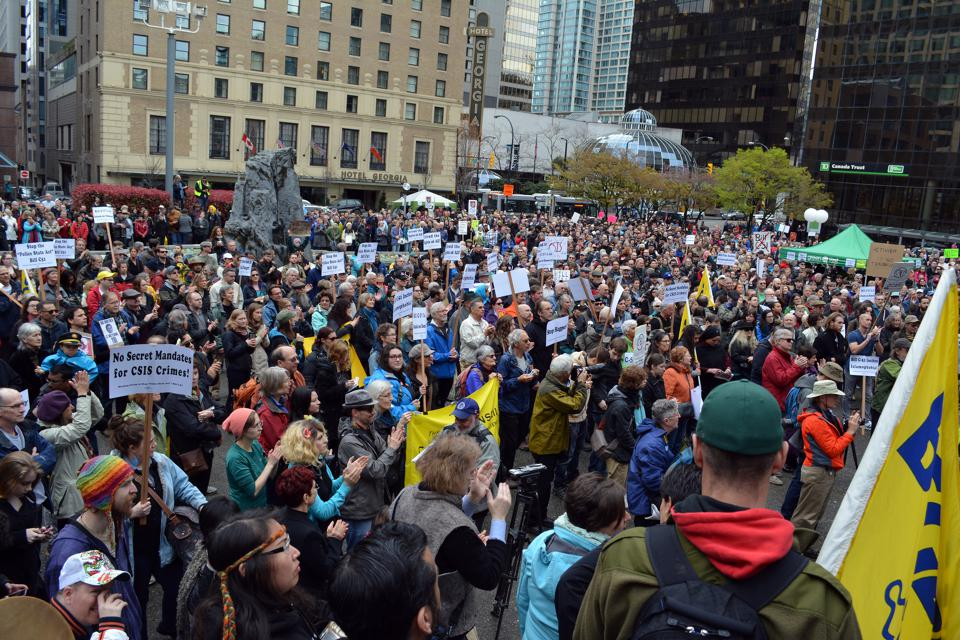 960px version of Bill C-51 protest