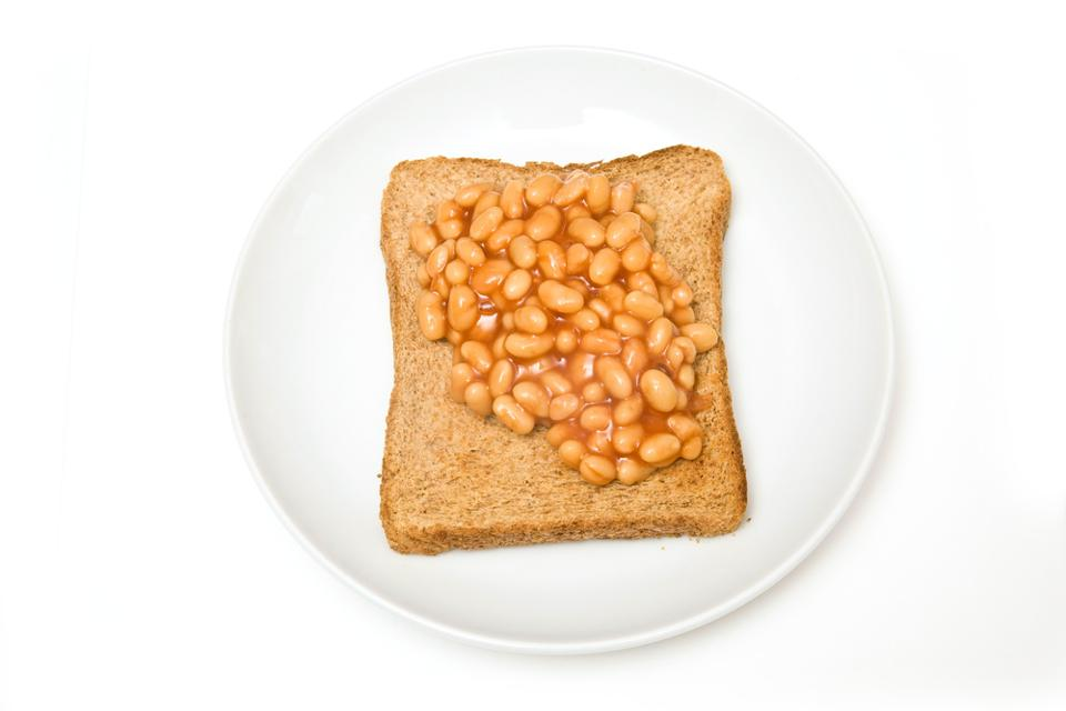 960px version of Baked beans on toast