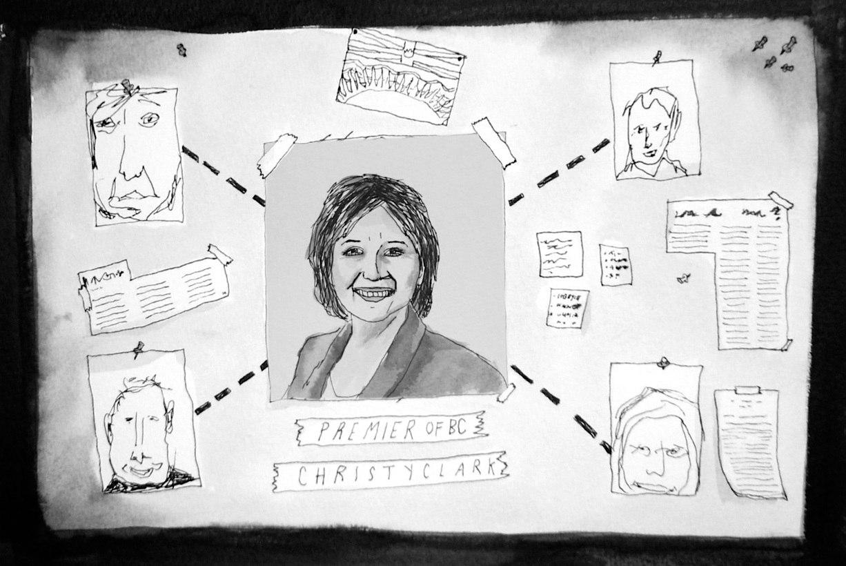Christy Clark's Club: Kings and Queens of the Crowns   The Tyee