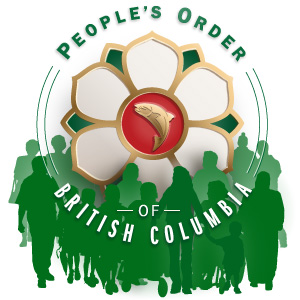 Peoples Order of BC with people