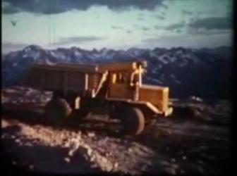 Cassiar an Asbestos Mining Company Town 1960 British Columbia Canada - video thumbnail