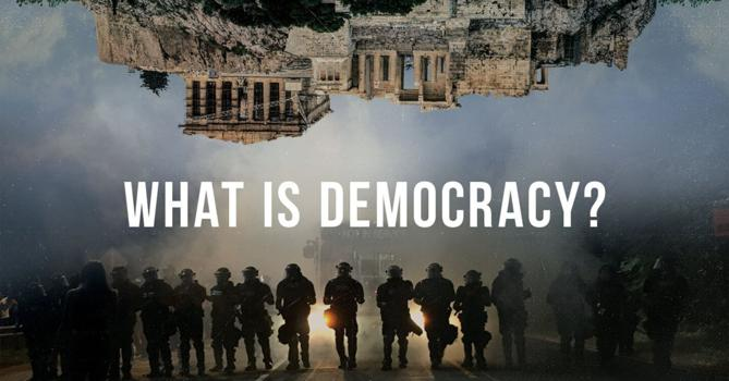 What is Democracy? (Trailer 30 sec.- COMING SOON) - video thumbnail
