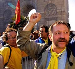 Jose Bove, French anti-GMO activist